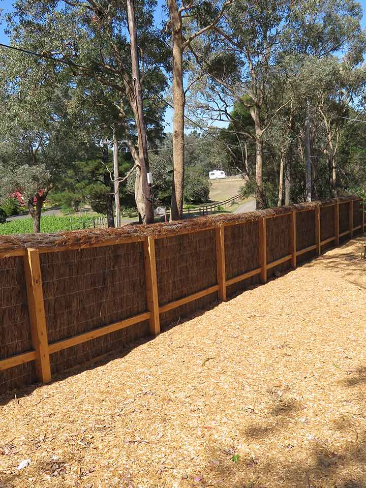 Brush-Fences